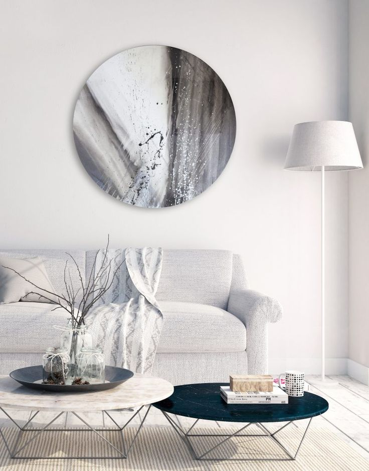 The uniqueness in shape, versatility of rotation and super high gloss finish make our circular canvas artworks a stunning addition to any contemporary interior needing that extra touch of dynamism. See our full collection on our 'Silver Wall Art' website. www.silverwallart.co.uk