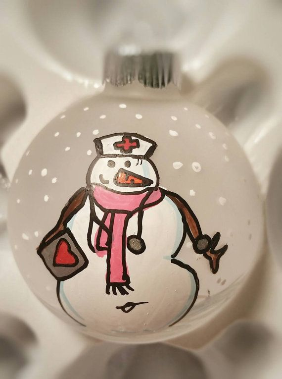 Nurse Ornament  RN Ornament  CNA Ornament  LPN by ShopMetamora