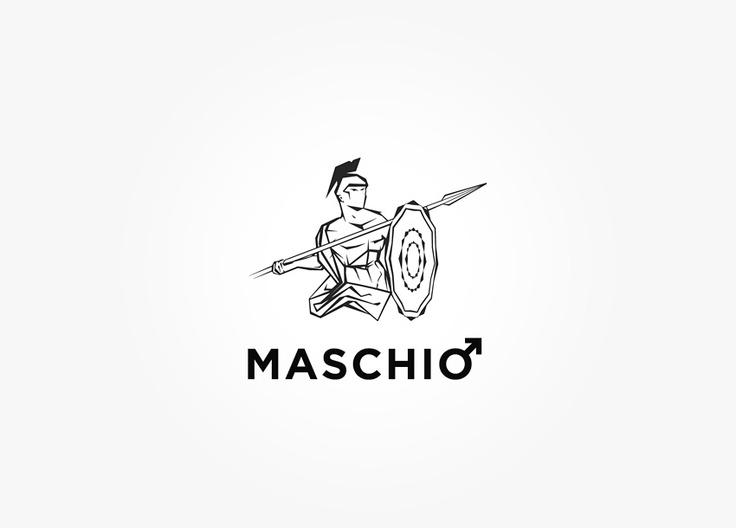 Logo design for italian fashion designer.