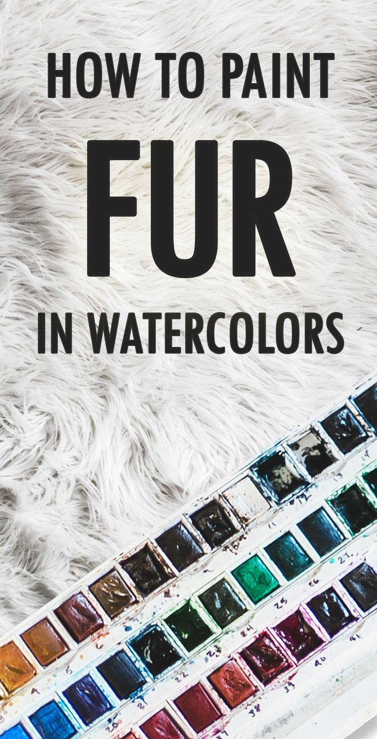 Video: How To Paint Fur with Watercolors (video) – Dominic Beaudoin   Artist