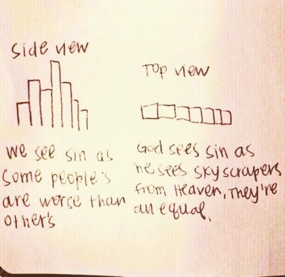 everyone is equal in gods eye See 'everyone is equal' instances in the king james version (kjv.