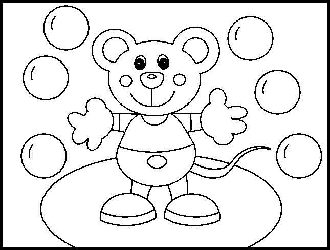 Coloring Pages Ladybug Snack