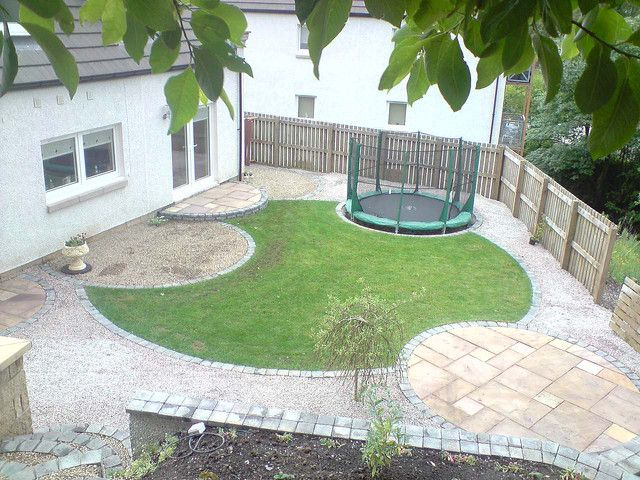 Circular garden design near Glasgow by GardenImprovements.com, via Flickr