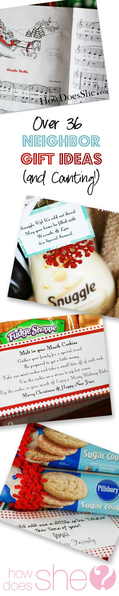 Over 36 Neighbor Gift Ideas and Counting | How Does She