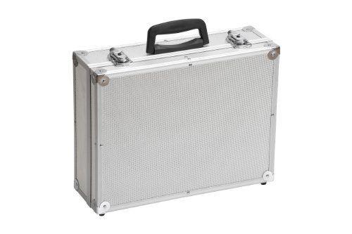 Meister Valise à outils vide, 395 x 300 x 130 mm, 9095130: Price:15.8Mallette avec cadre en aluminium 395x300x130 mm – Coins renforcés –…