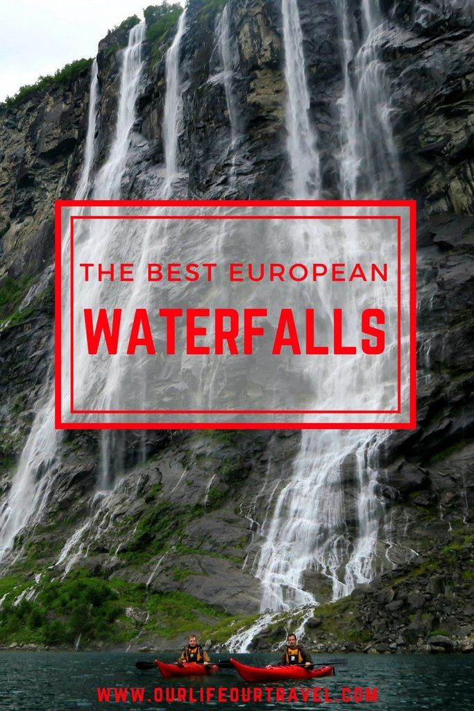 The Best Waterfalls in Europe | Must-See Falls | Locations and entrance fees included. Iceland, Norway Finland, Portugal, Azores, Scotland #waterfalls #mustsee #best #falls