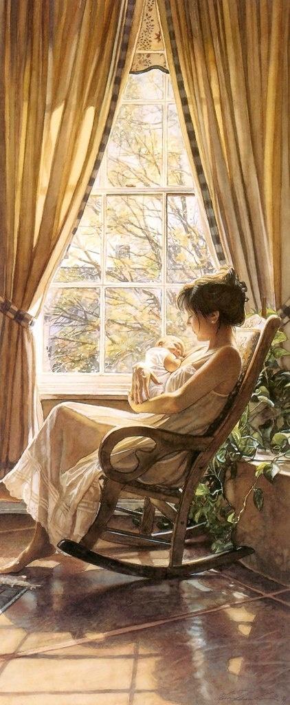 Steve Hanks, artist ~ watercolor. LOVE this painting