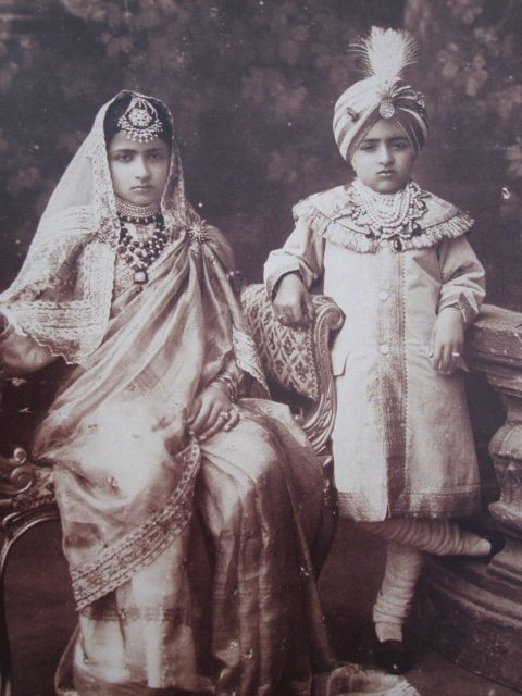 The Patiala Children - including Yadvinder Singh - Father of Amrinder Singh - the Current Maharaja