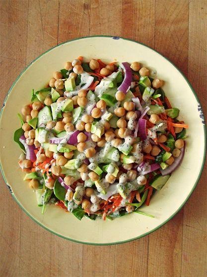 Zdravý salát co dům dal : ) - DIETA.CZ