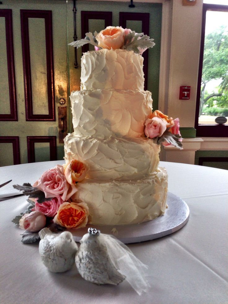 wedding cakes galveston tx buttercream wedding cake chopin mon ami catering amp cakes 24429