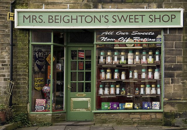 Mrs. Beighton's Sweet Shop | Haworth, England