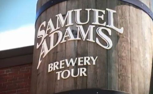 Samuel Adams Brewery Tour - great Mancation spots in MA