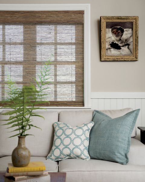 15 best urban intellectual office space images on for Natural woven flat fold shades