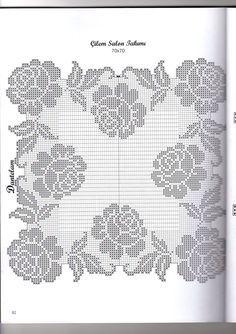 Filet crochet Handarbeiten ☼ Crafts ☼ Labores  ✿❀⊱╮.•°LaVidaColorá°•.❀✿⊱╮  http://la-vida-colora.joomla.com