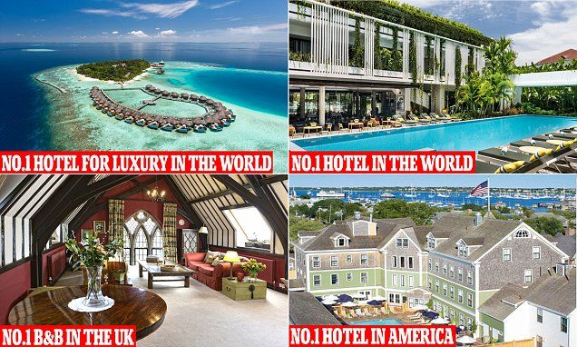 TripAdvisor has been handing out its global awards, which recognise properties in the categories top hotels, bargain, B&Bs, best service, luxury, small hotels and value.