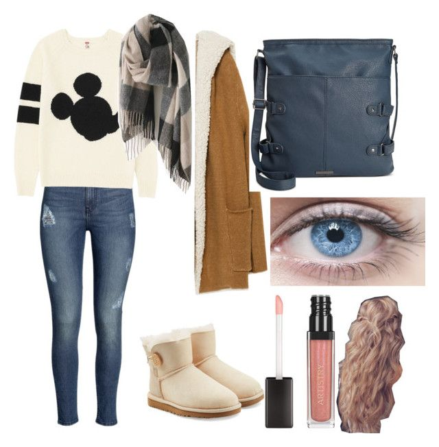 """""""For No Time Moments"""" by mmarasyle on Polyvore featuring H&M, Uniqlo, UGG Australia, Zara and Rampage"""