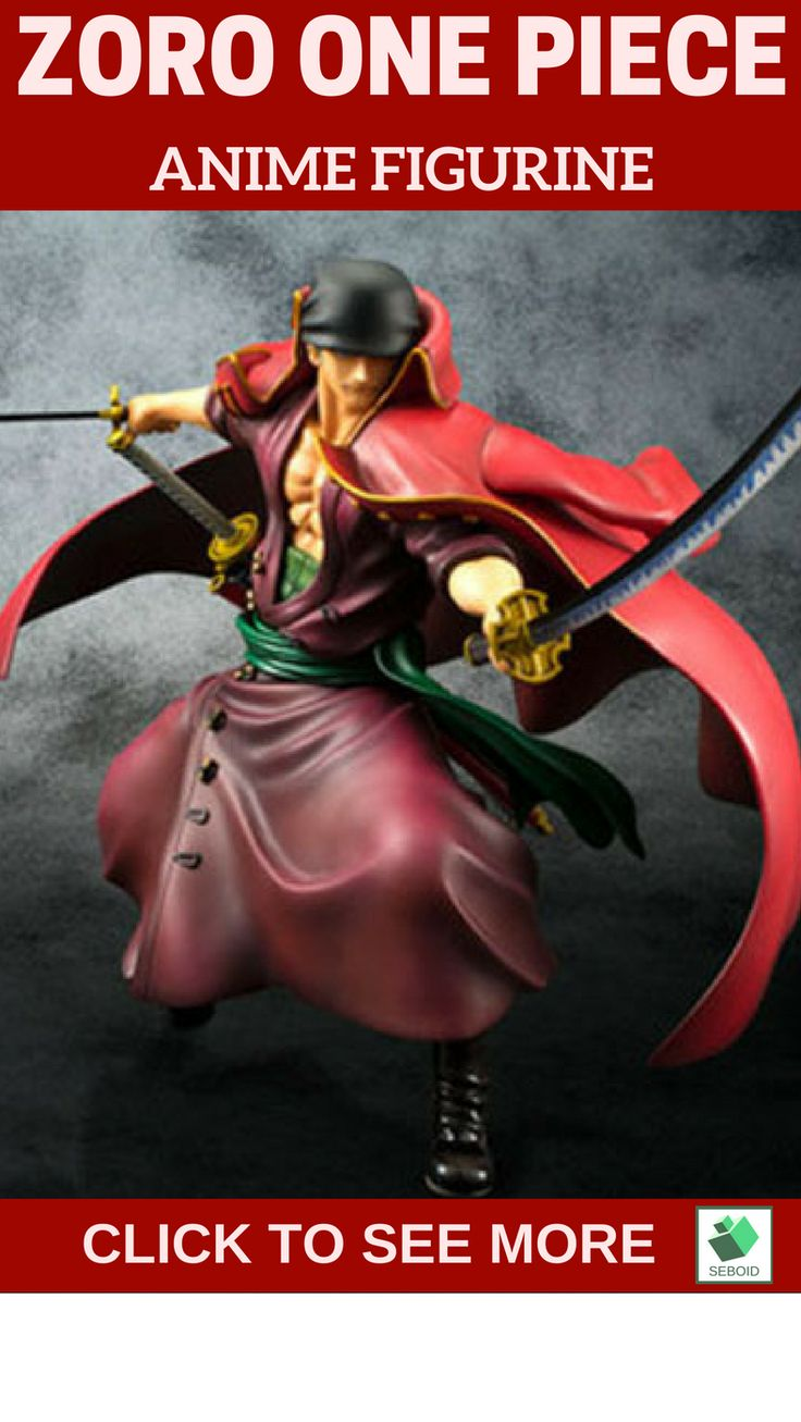 Zorro Anime figurine | $35 .This is our zorro in a battle mode. You can have this badass zoro on https://www.etsy.com/listing/518959468/one-piece-zoro-action-figure?ref=listings_manager_grid