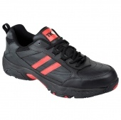 Black Sports Safety Trainer,Safety trainers , steel toe cap trainers, steel toe cap shoes