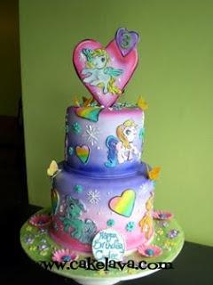 my little pony birthday cake ideas | cakelava: January 2010