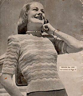 "gratis patroon.Length from top of shoulder, 20"";"