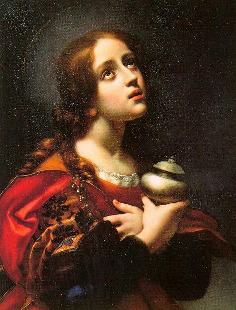 Dolci, Carlo (Italian, 1616-1686) Mary Magdalene between 1660 and 1670 Palazzo Pitti, Florence, Italy