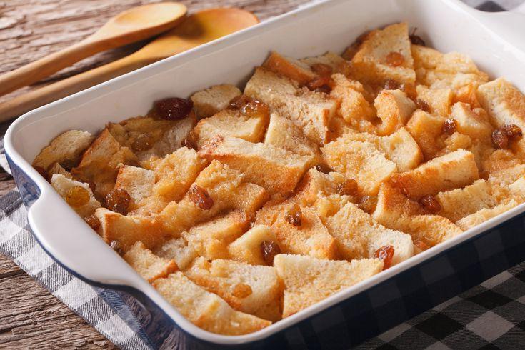 Bread-and-Butter-Pudding ist eine englische Resteverwertungsspeise. Lea Linster macht ...