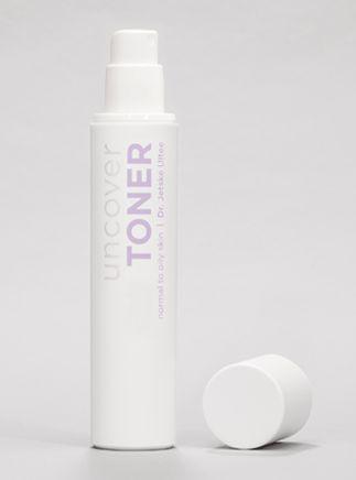 Dr. Jetske Ultee  | Uncover Skincare - Toner normale tot vette huid. De toner brengt vocht in de huid, beschermt en kalmeert haar. #toner #skincare #products #oilyskin #skin #calming