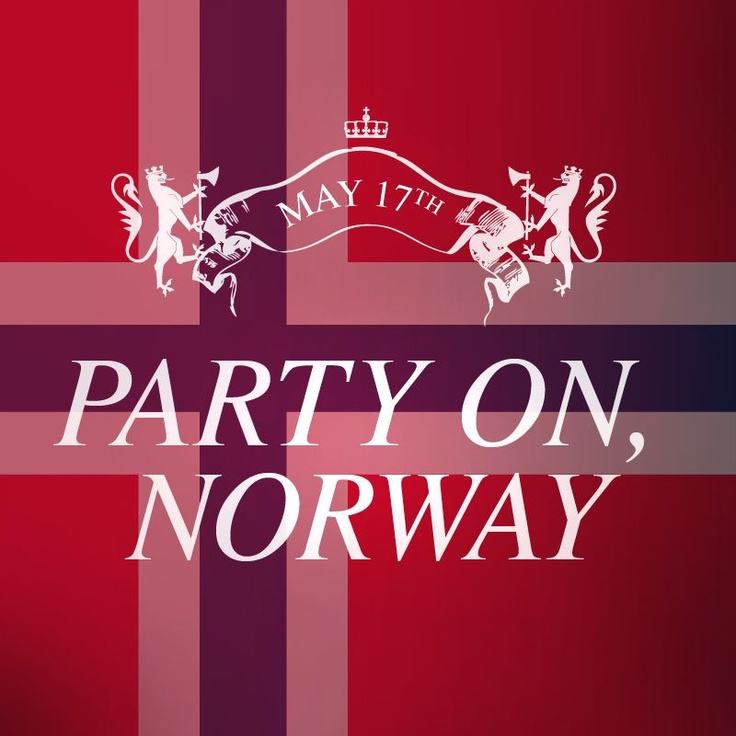 Party on Norway! May 17th is Norwegian Independence Day. #VOSS