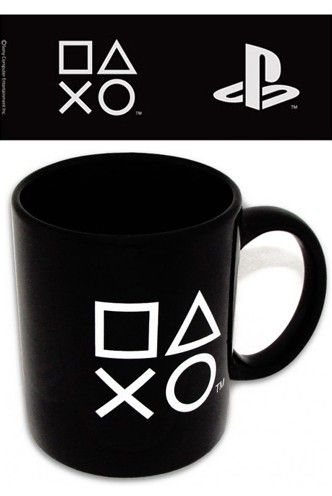 """(*** http://BubbleCraze.org - Free family-friendly Android/iPhone game for all ages. ***) Mug - PlayStation """"Logo"""""""