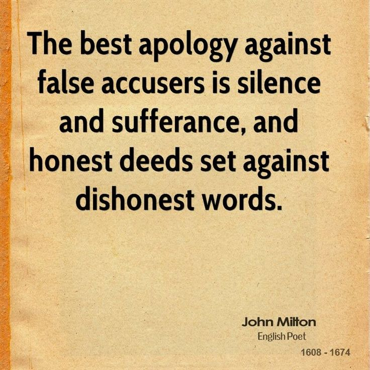 Quotes The Best Apology Against False Assurance ...