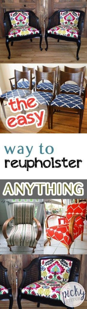 The Simple Strategy To Reupholster ANYTHING| The Way To Re Upholster Something, Reupholster …