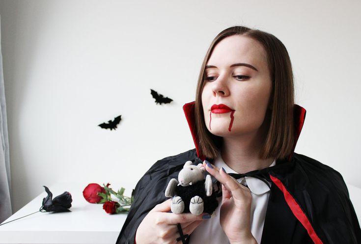 """""""Countess Dracula"""" Makeup Look — LilacChocolate"""
