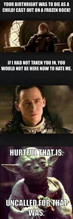 Poor Loki :'( To many feels for me to handle!