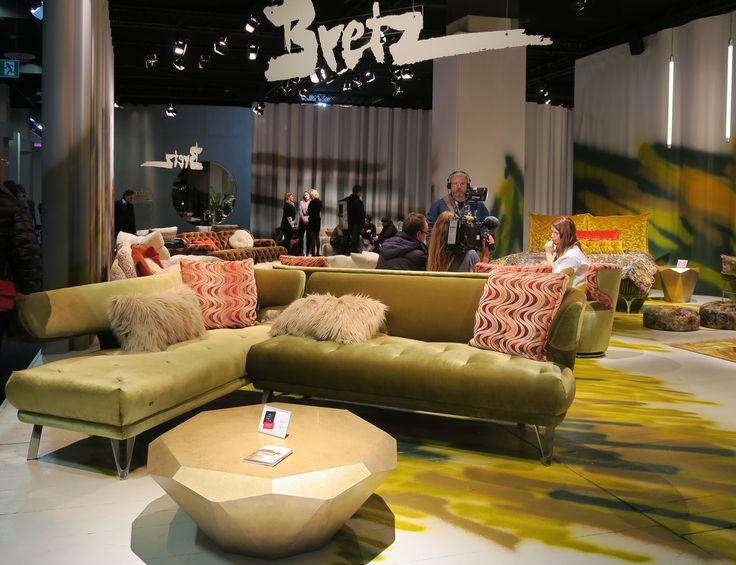 Die besten 25+ Bretz couch Ideen auf Pinterest Lila couch - designer mobel aus metall bequeme sitzgruppe mit lederspolsterung