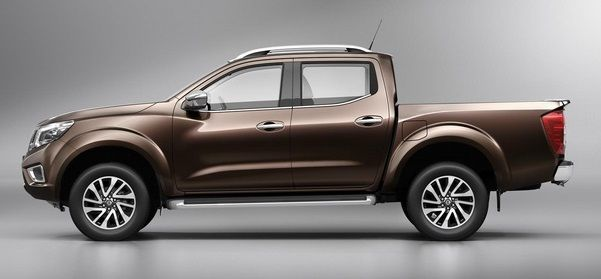Side view of poetry in motion #Nissan #Navara #PickupTruck 2015 New Model Nissan Navara NP300 Bangkok, Thailand available for export at Jim Autos Thailand http://toyota-dealer.org/2015-nissan-navara-np300.html