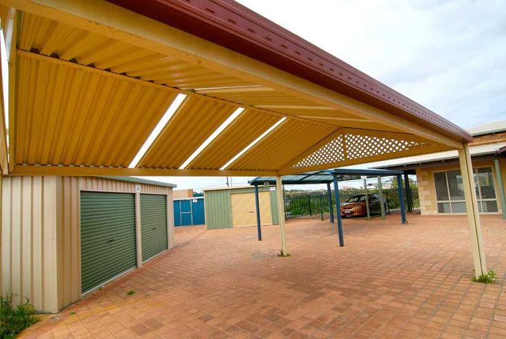 #OutdoorPatios #PatioDesign #PatioIdeas #Patios #Perth #WA http://www.factorydirectwa.com.au/patios/gableroofdesign