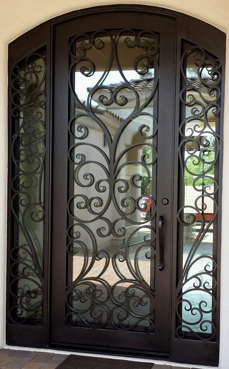 Nfn Homes Metal Doors With Sidelights Front Doors In