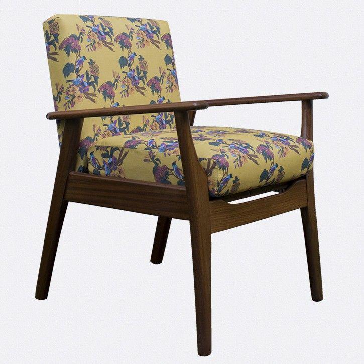 Golden Bunting Bird Retro Chair by Occipinti Stand F09 Hall 1 www.occipinti.com/shop