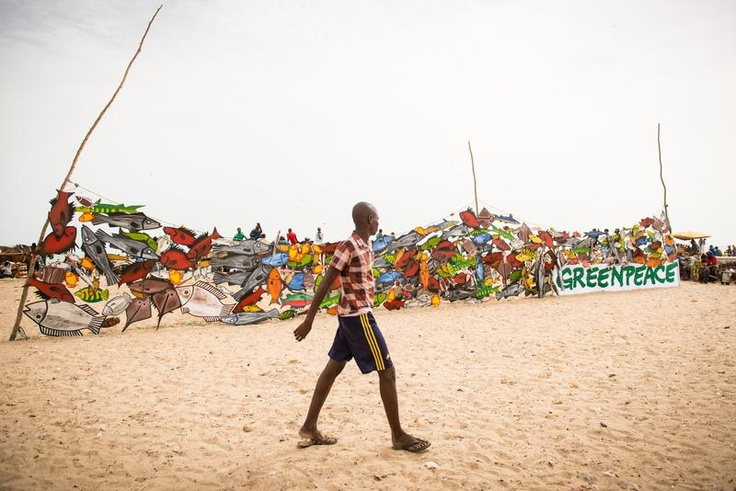 World Ocean Day in Senegal © Clément Tardif / Greenpeace