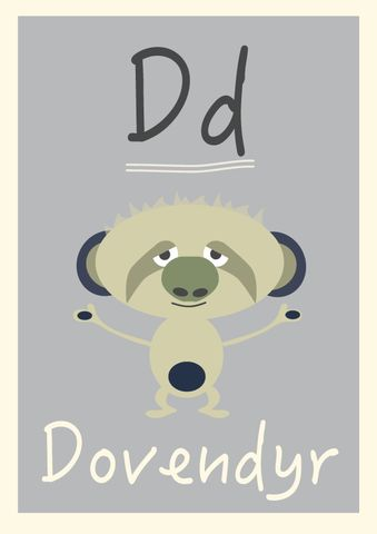 D alfabetdyr http://www.barneplakat.no
