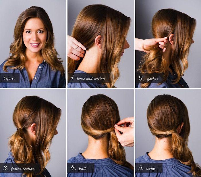 1001 Inspirierende Ideen Fur Einfache Frisuren Fur Den Alltag Schone Frisuren Mittellange Haare Einfache Frisuren Alltag Haar Styling