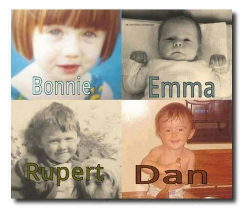 I just died. Harry Potter babies. I don't think Rupert has changed, at all!