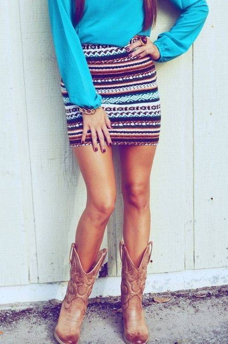 1000  images about Cowboy boots   dresses = cute outfits on ...