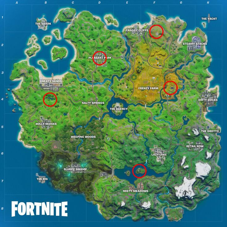 Fortnite Safe Houses Locations Where To Find Shadow Safe