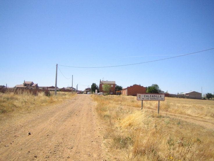 Calzadilla de los Hermanillos, León, Camino de Santiago, Vía Trajana