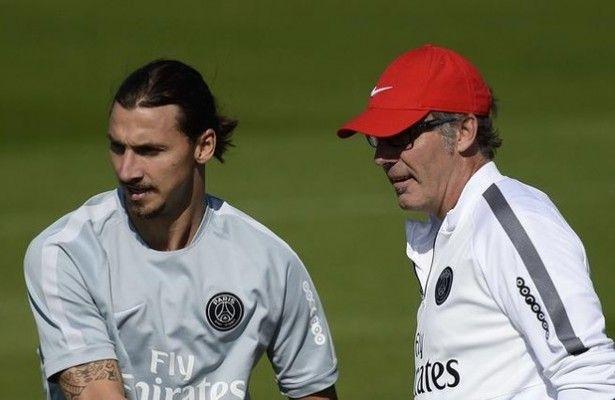 """Blanc abre la puerta de salida a Ibrahimovic - Desde que dijo """"este podría haber sido mi último partido con el PSG"""" la madrugada del domingo tras haber conquistado con el equipo francés el títu..."""