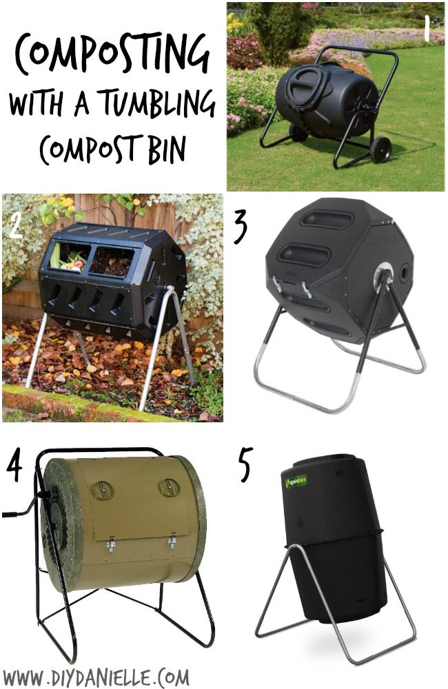 An intro to composting with a tumbling compost bin, Part III of the DIY Danielle Earth Day composting series.