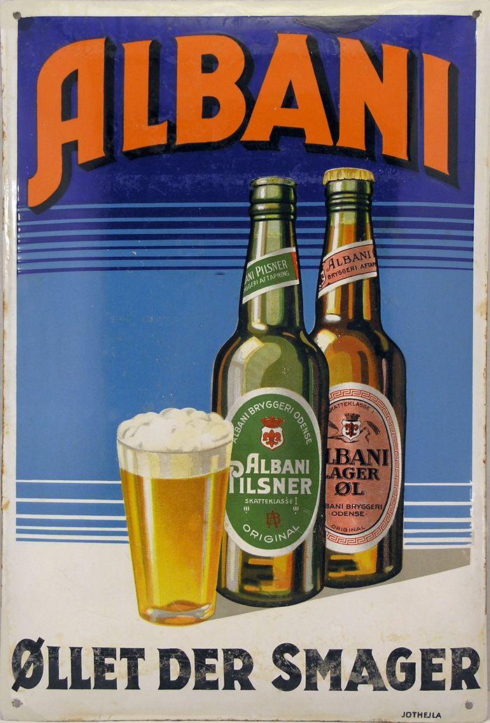 Albani beer ad