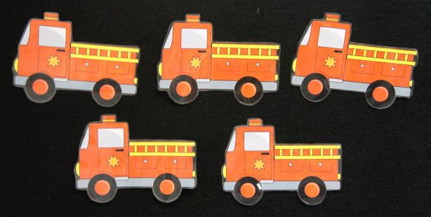 FINGERPLAY: 5 Little Firetrucks