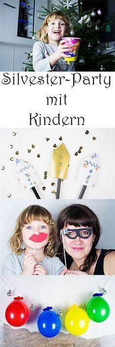 Silvester mit Kindern: 4 kreative Ideen für Party-Stimmung